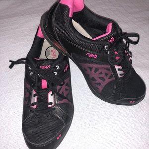 RYKA Exertion Lace Up Athletic Walking Shoes